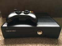 Xbox 360 slim 250gb & games