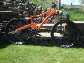 "Orange Five Pro 17"" in Team Issue Striker Orange Paint,One off from factory hardly used. Offers!"