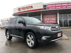 2012 Toyota Highlander 4WD V6 LTD 5A leather,sunroof