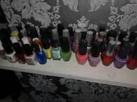 OPI nail polishes. 96 of them