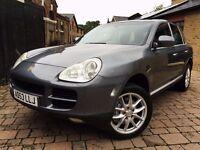 Porsche Cayenne 4.5 S Tiptronic S AWD 5dr **6 MONTHS WARRANTY*1 YEAR MOT 2004 (53 reg), SUV