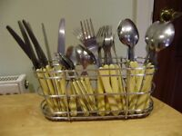 Cutlery set, 24 pieces, as New