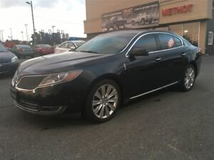 2013 Lincoln MKS ECOBOOST + AWD + CERTIFIE