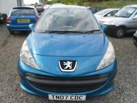PEUGEOT 207 1.4 S 5dr low tax and insurance. Ideal starter vehicle (blue) 2007