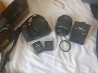Nikon D3100 Bundle! Mint condition with box!