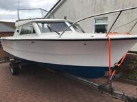 20ft fishing boat 2.0 petrol BMW marine engine