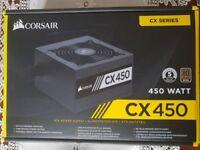Desktop Power Supply Unit. Corsair CX450. Brand New, with box.
