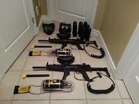 Used 4 times Paintball kit