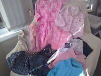 Girls clothes bundle 18-24months Peppa Pig onesie sleepsuit long sleeve tops dres skirt leggings pjs