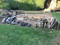 Large Rockery Stone Mixed Variety Available