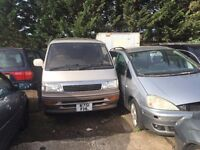 TOYOTA HI-ACE 1996- FOR PARTS ONLY for parts only