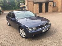 bmw 730d diesel automatic 2004 150k miles soft close door 12 mot quick sale 2550 pounds