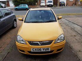 Vauxhall corsa 1.2 diesel 2006 reg, cheap to run