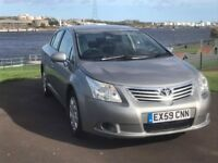 TOYOTA AVENSIS 1.8 V-MATIC/T2 SALOON/LOW MILES/COMES WITH FULL MOT/3 MONTHS WARRANTY/VALET + SERVICE