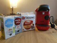 Red Tassimo Coffee Maker
