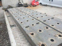 5 ton Galvanised car recovery truck 2.44 Meter 8Ft Heavy Duty Loading Ramps