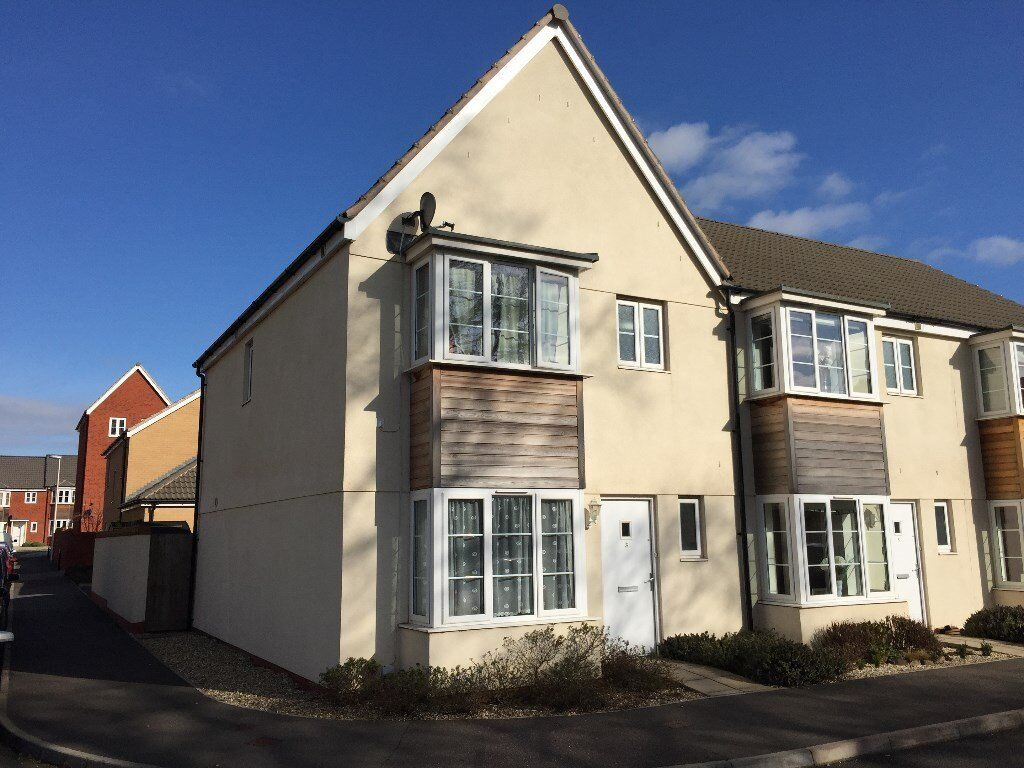 3 bed detached house with garage and parking