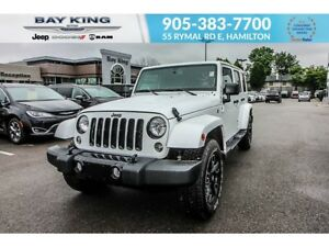 2018 Jeep Wrangler ALTITUDE 4X4, GPS NAV, BLUETOOTH, A/C, HEATED