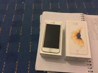 APPLE IPHONE 6S 16GB GOLD UNLOCKED IMMACULATE CONDITION FULLY BOXED