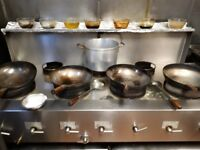 Commercial Thai/Chinese cooker for Sale