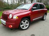 JEEP COMPASS 2.0 CRD LIMITED EDITION 2008 57'REG*TOP OF RANGE*LEATHER*H/SEATS*PRISTINE CONDN*#4X4