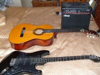 2 guitars for sale