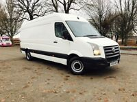 vw Crafter 2.5tdi comes with 6 months warranty full history service same like Mercedes sprinter