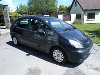 55 Plate Citroen Picasso 1.6 Petrol. MOT August 2017 Bargain of the day just £325 to clear.