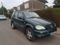 Mercedes Benz ML 270 CDI Auto Green