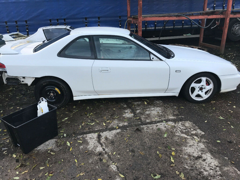 honda prelude bb8 sir 4ws h22a jdm white hswap project track spares civic