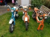 FZ50 BREAKING PARTS SPARES RETRO MOPED