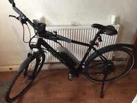 Carerra crossfire electric bike
