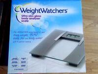 Weight Watchers Body Analyser Scale