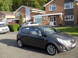LOW MILEAGE 2012 VAUXHALL CORSA 1.2 SE 5 DOOR NEW SHAPE CHEAP INSURANCE IDEAL 1ST CAR