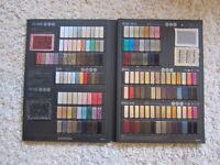 Assorted textile samples inc. Biba