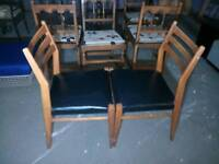 Pair of G plan dining chairs