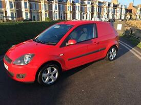 2007 56 Ford Fiesta van one former keeper from new comes with service history MOT till July 2017
