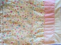 Curtains and tie backs. Excellent condition