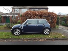 MINI COOPER S, SUPERCHARGED MODEL, CHECKMATE SPECIAL EDITION, 2005 55,