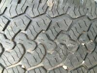 Rugged Trail truck tires set of four