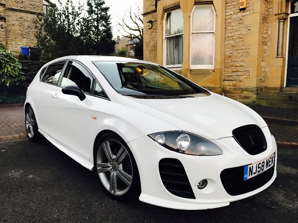 2009 seat leon fr 2 0 tdi btcc seat leon fr btcc k1 cupra r tdi replica white in. Black Bedroom Furniture Sets. Home Design Ideas