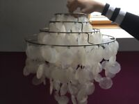 Pendant Light shades x 2. 38cm wide