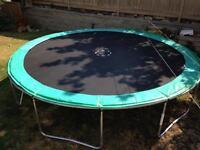 14' Trainor Sports trampoline