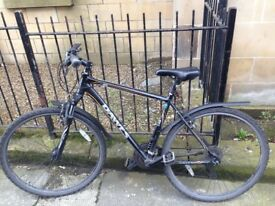 DAWES DISCOVERY SPORT 2 MENS HYBRID BICYCLE (+ Helmet, D-lock, Pump, Alan Keys, Lubrication)