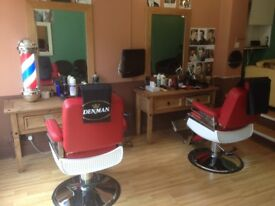 BARBER SHOP FOR SALE in London-Richmond(£40,000)