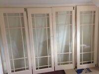 French door FREE DELIVERY glazed room divider x4