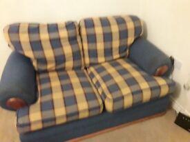 2 seater sofa, very comfy.