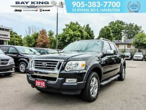 2010 Ford Explorer Sport Trac SPORT TRAC XLT, 4X4, SUNROOF, SIDE