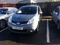 2010 Nissan Note 1.5dci Pure Drive LCI Facelift Sat Nav Diesel 30 Road Tax