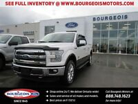 2015 Ford F-150 KING RANCH 4X4 601A PKG NEW